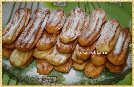 Чуррос (испанские пончики)