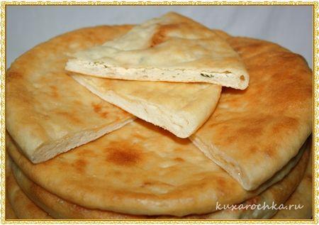 Осетинские пироги с брынзой и сыром