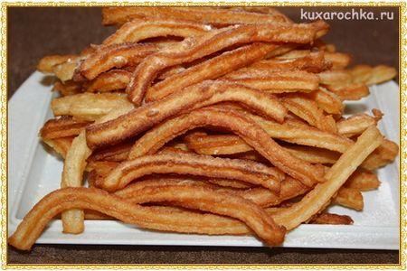 Чуррос - испанские пончики