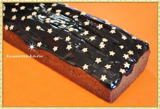 """Шоколадный кекс """"Ночь накануне Рождества"""""""