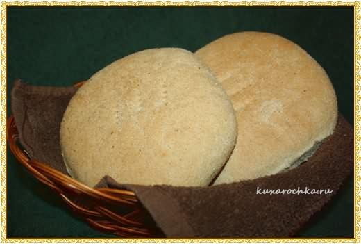 """Марокканский хлеб """"Matlouh"""""""