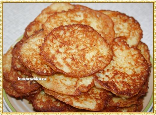 Овсяно-картофельные оладьи