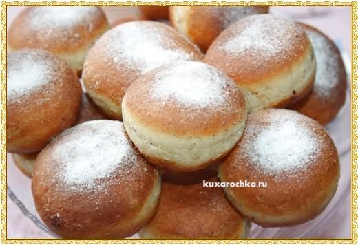 Ореховые пончики