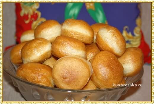 Пончики с ржаными отрубями