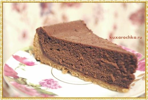 Шоколадный чизкейк из маскарпоне