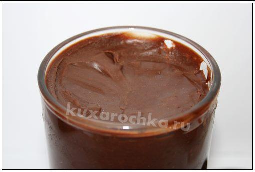 Шоколадная паста с миндалем