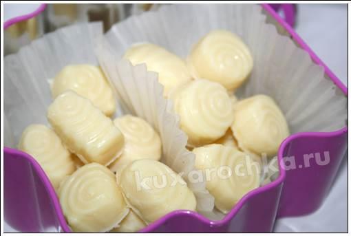 Конфеты из сухого молока